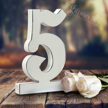 Freestanding Wooden Wedding Table Number 170mm