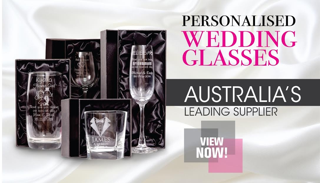 engraved wedding glasses at low prices