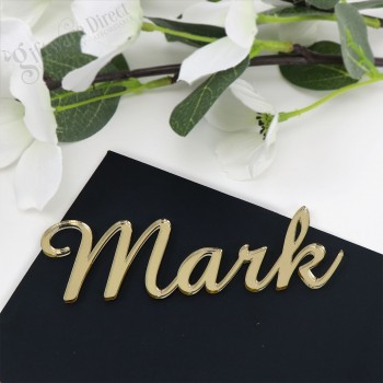 Laser Cut Wedding Acrylic Name Placecards