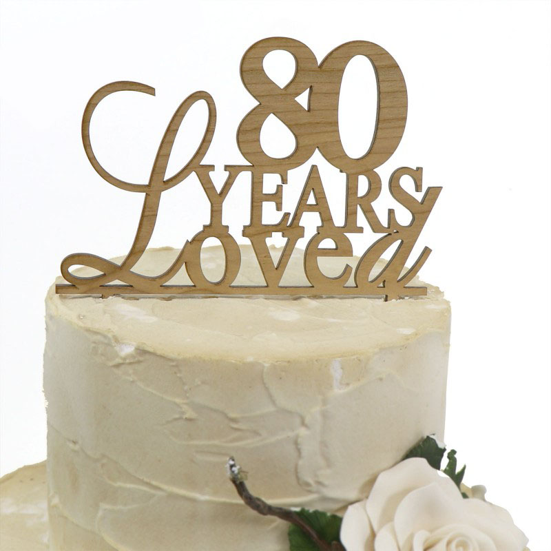 Wooden Wedding Cake Toppers Australia