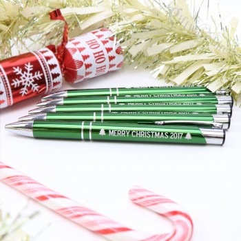 Engraved Metal Pen Fundraising Wholesale Christmas School Stall Business Gift with Pouches
