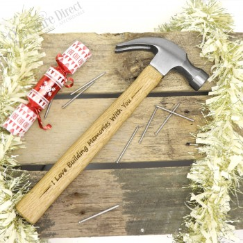 Engraved Christmas Hammer Personalised Gift