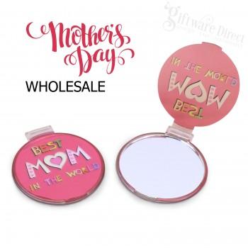 Worlds Best Mum Compact Mirror fundraising school stall gift
