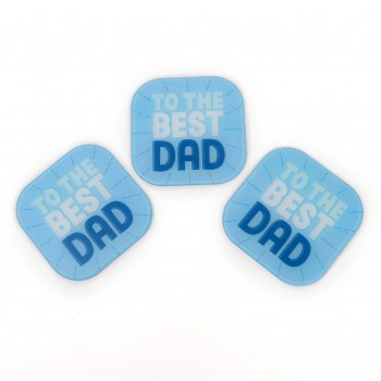 Full Colour Frosted Coaster Fathers Day School Fundraising Gift
