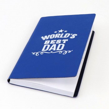 Blue Notebook Fathers Day School Fundraising Gift