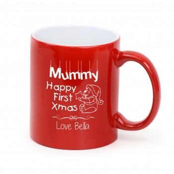 Engraved Coffee Mug Personalised Christmas Gift