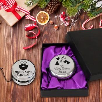 Personalised Yo-Yo in Box Engraved Christmas Gift