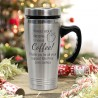 Personalised Teacher Gift Engraved Travel Mug Stainless