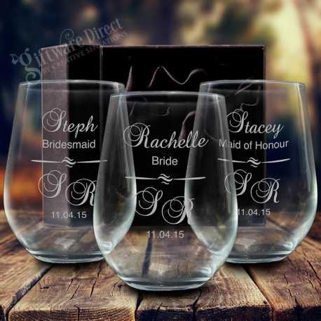 Custom Wine Glass Engraving Adelaide