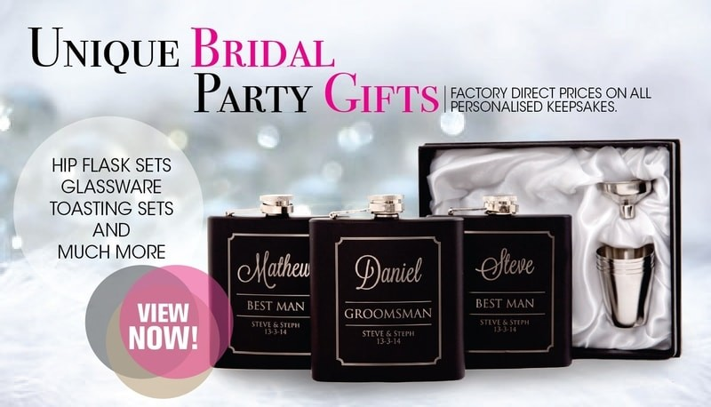 Personalised Bridal Party Giftware